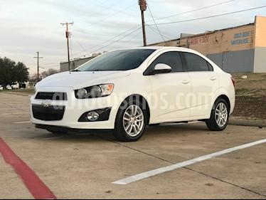 Chevrolet Sonic LT usado (2012) color Blanco Galaxia precio $85,000