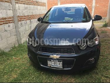 Chevrolet Sonic LTZ Aut usado (2016) color Gris Oxford precio $169,000