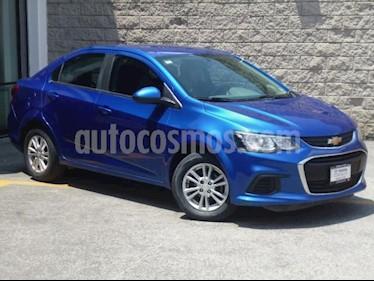 foto Chevrolet Sonic 4p LT L4/1.6 Man usado (2017) color Azul precio $160,000