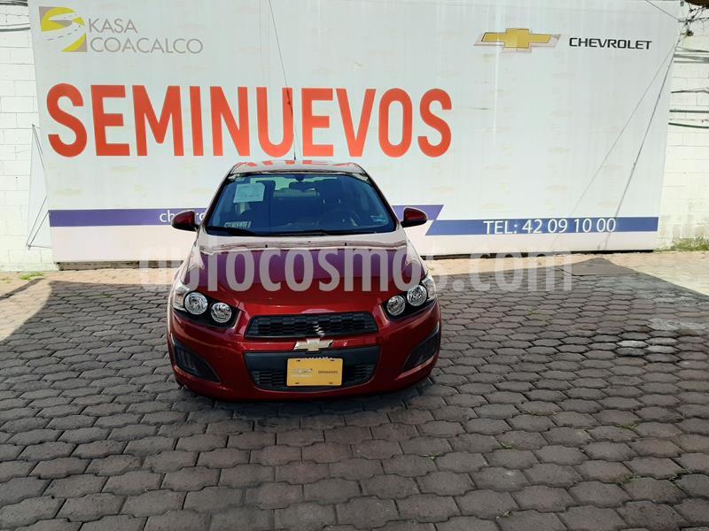 Chevrolet Sonic LT Aut usado (2016) color Rojo precio $150,000