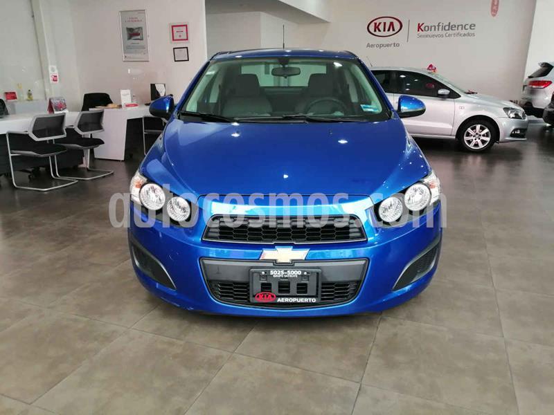 Chevrolet Sonic LS usado (2016) color Azul precio $139,000