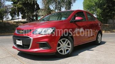 Chevrolet Sonic 4P LT TM5 A/AC. VE BA RA-15 usado (2017) color Rojo precio $149,000