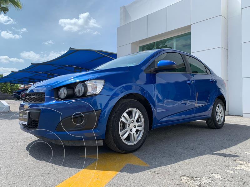 Foto Chevrolet Sonic LT usado (2016) color Azul precio $186,000