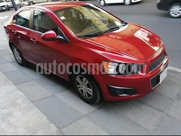 Chevrolet Sonic Paq D usado (2014) color Rojo precio $110,000