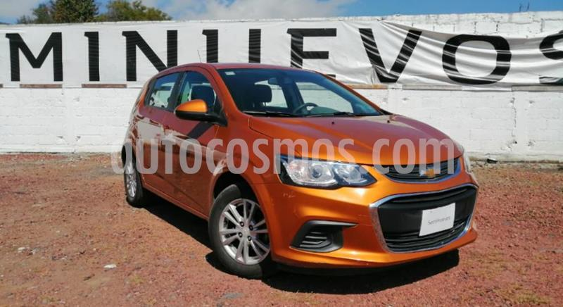 Chevrolet Sonic LT HB Aut usado (2017) color Naranja precio $158,000