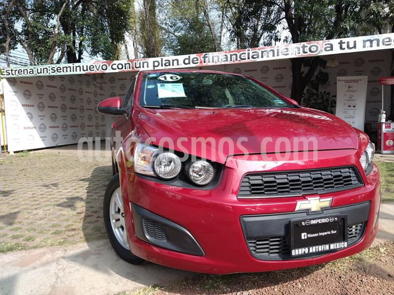Chevrolet Sonic LT Aut usado (2016) color Rojo precio $120,000