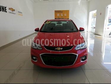 Chevrolet Sonic Premier Aut usado (2017) color Rojo precio $210,000