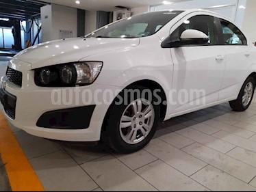 Chevrolet Sonic 4 pts. TA E usado (2016) color Blanco precio $144,000
