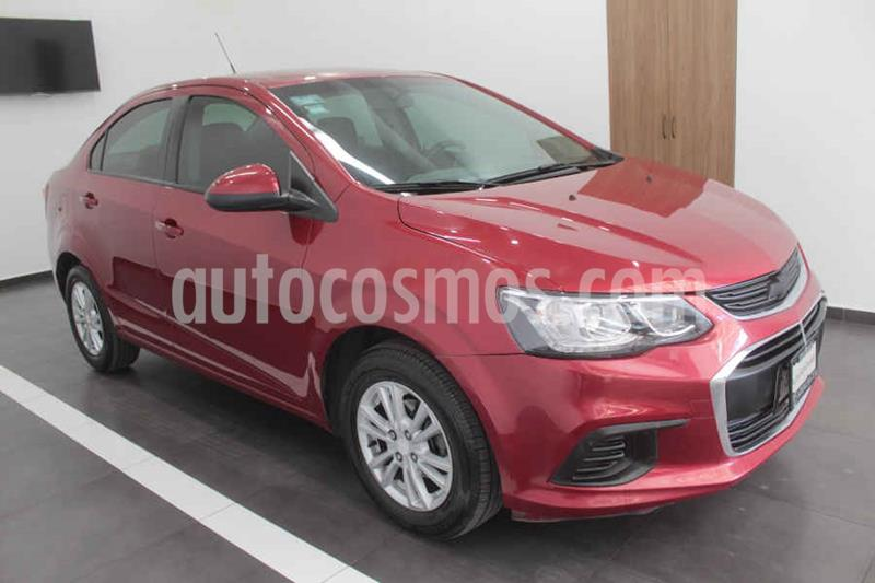 Chevrolet Sonic LT Aut usado (2017) color Rojo precio $169,000