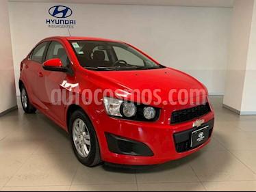 Chevrolet Sonic Paq D usado (2016) color Rojo precio $148,000
