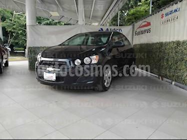 foto Chevrolet Sonic LS usado (2013) color Negro Carbón precio $103,000