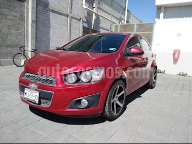 Foto Chevrolet Sonic LTZ Aut usado (2016) color Rojo Tinto precio $195,000