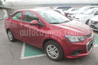 Chevrolet Sonic LS usado (2017) color Rojo precio $159,000