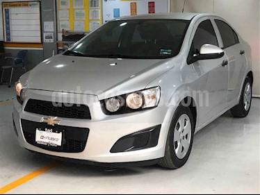 Chevrolet Sonic 4 pts. TM A usado (2016) color Plata precio $129,000