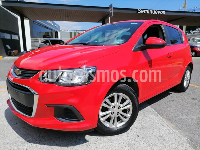 Chevrolet Sonic LT HB usado (2017) color Rojo precio $160,000