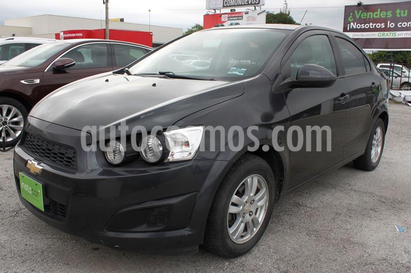 Chevrolet Sonic Paq E usado (2016) color Gris Oscuro precio $150,000