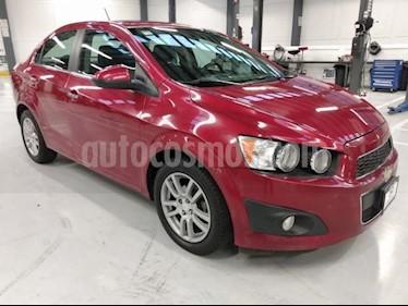 Chevrolet Sonic 4P LTZ TA A/AC. VE QC ABS BA F. NIEBLA RA-16 usado (2015) color Rojo precio $160,000