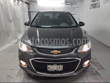 Chevrolet Sonic LTZ Aut usado (2017) color Gris Ceniza precio $195,000