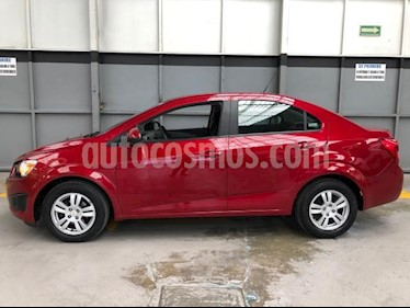 Chevrolet Sonic 4P LT AT A/AC. VE BA RA-15 usado (2015) color Rojo precio $150,000