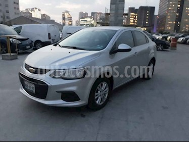 Chevrolet Sonic 4p LT L4/1.6 Man usado (2017) color Plata precio $139,000