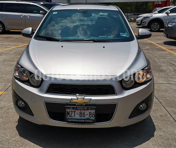 Chevrolet Sonic LTZ Aut usado (2016) color Plata Brillante precio $155,000