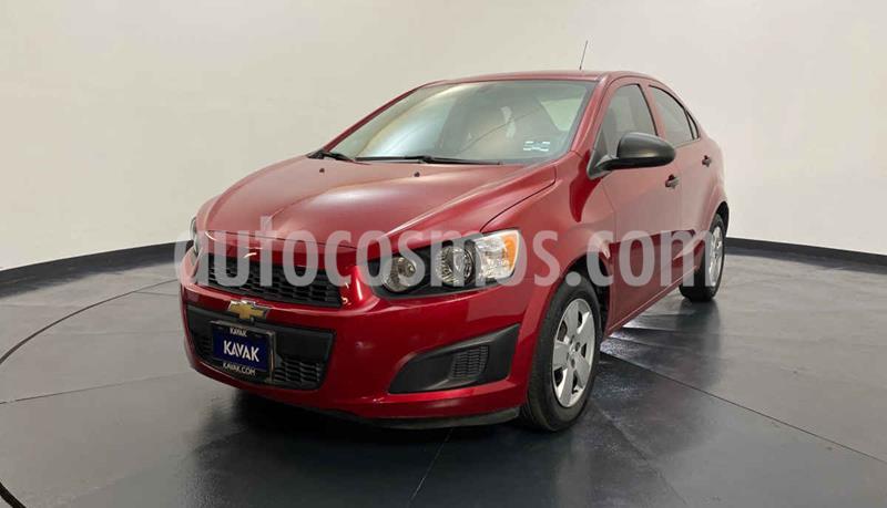 Chevrolet Sonic LS usado (2015) color Rojo precio $132,999