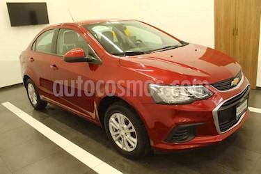 Chevrolet Sonic 4p LT L4/1.6 Man usado (2017) color Rojo precio $185,000