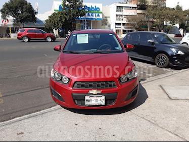 Chevrolet Sonic Paq D usado (2016) color Rojo precio $140,000