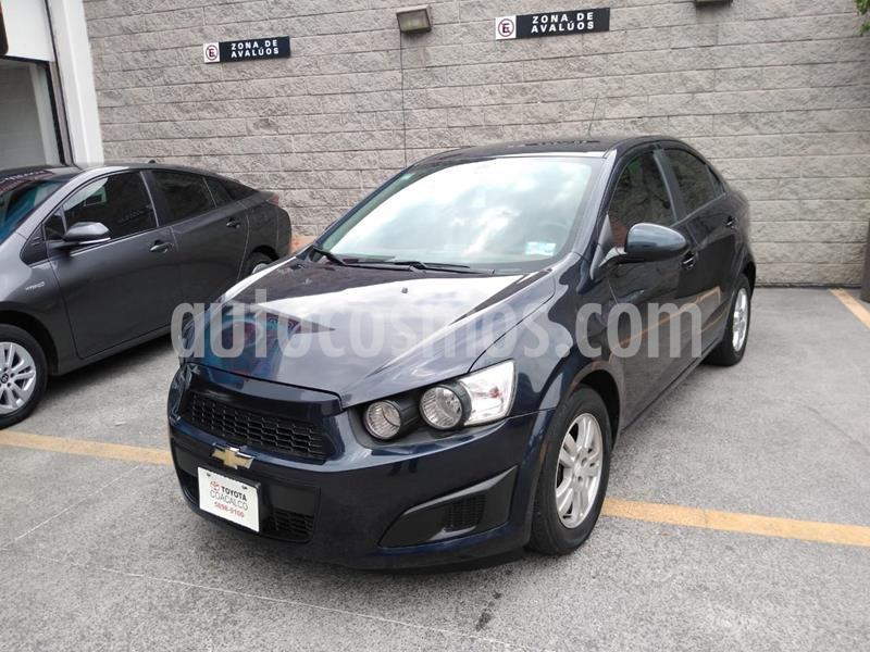 Chevrolet Sonic LT usado (2016) color Azul precio $140,000