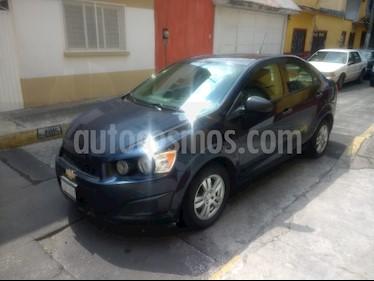 Foto venta Auto usado Chevrolet Sonic Paq A (2015) color Azul Naval precio $109,900
