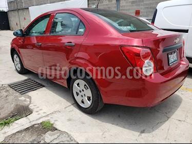 Foto venta Auto usado Chevrolet Sonic Paq A (2014) color Rojo precio $120,000