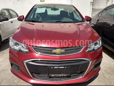 Foto venta Auto usado Chevrolet Sonic Paq A (2017) color Rojo Granada precio $188,000