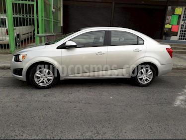 Foto venta Auto Seminuevo Chevrolet Sonic Paq B (2012) color Gris Urbano precio $95,000