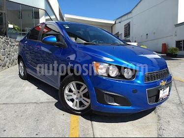 Foto venta Auto usado Chevrolet Sonic Paq B (2012) color Azul precio $107,000