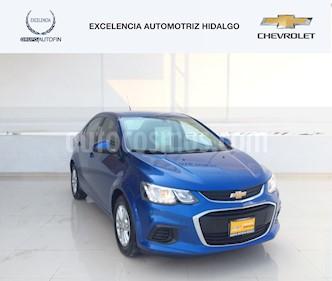 Foto venta Auto usado Chevrolet Sonic Paq D (2017) color Azul Cobalto precio $205,000