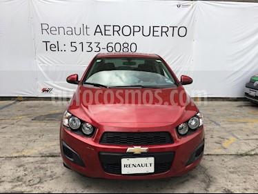Foto venta Auto usado Chevrolet Sonic Paq D (2016) color Rojo precio $155,000