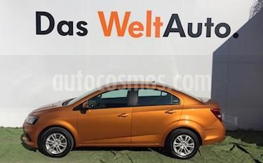 Foto venta Auto usado Chevrolet Sonic Paq D (2017) color Ocre precio $199,000