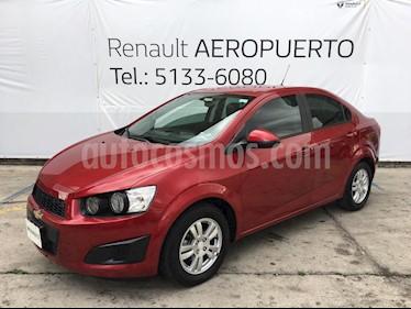 Foto venta Auto usado Chevrolet Sonic Paq D (2016) color Rojo Granada precio $157,000