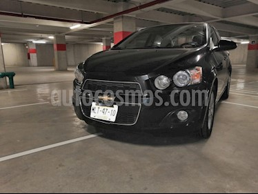 Foto venta Auto Seminuevo Chevrolet Sonic Paq F (2012) color Negro precio $112,000