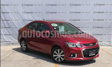 Foto venta Auto usado Chevrolet Sonic Premier Aut (2017) color Rojo Tinto precio $219,000