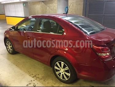 Foto venta Auto usado Chevrolet Sonic Premier Aut (2017) color Rojo Tinto precio $200,000