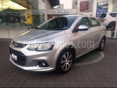 Foto venta Auto usado Chevrolet Sonic Premier Aut (2017) color Plata precio $215,000