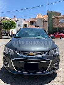 Chevrolet Sonic Premier Aut usado (2017) color Gris Ceniza precio $180,000