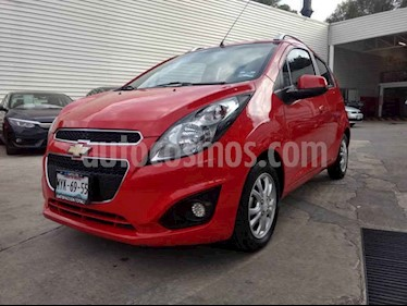 Foto venta Auto usado Chevrolet Spark Classic LTZ (2016) color Rojo precio $130,000