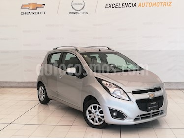 Foto venta Auto usado Chevrolet Spark Classic LTZ (2015) color Plata Metalico precio $119,000