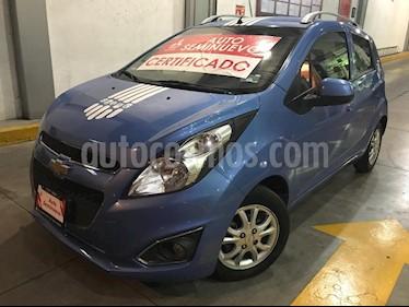 Foto venta Auto usado Chevrolet Spark Classic LTZ (2014) color Azul Denim precio $118,000