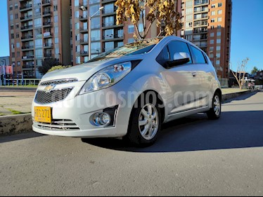foto Chevrolet Spark GT 1.2L usado (2014) color Plata precio $22.900.000