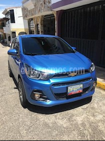 Foto venta carro usado Chevrolet Spark 1.4L Hot (2017) color Azul