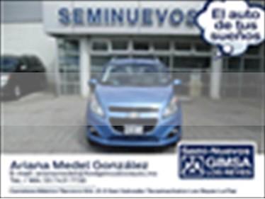 Chevrolet Spark 5P LTZ L4 1.2 MAN usado (2014) color Azul Electrico precio $105,000