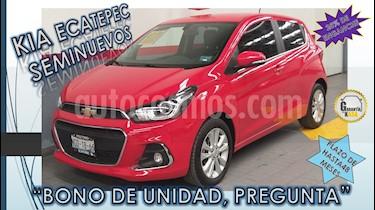 Foto venta Auto usado Chevrolet Spark 5p LTZ L4/1.4 Man (2018) color Rojo precio $197,000